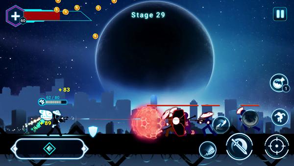 Stickman Ghost 2: Galaxy Wars (MOD, Unlimited Money)