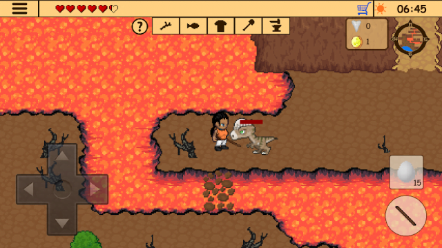 Survival RPG 3: Lost in Time Adventure Retro (MOD, Diamonds/Health Potions)