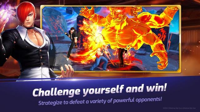 The King of Fighters AllStar (MOD, Unlimited Skill)