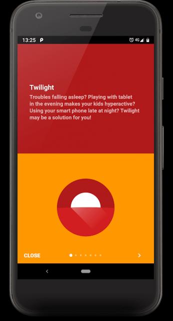 Twilight – Blue Light Filter (MOD, PRO Unlocked)