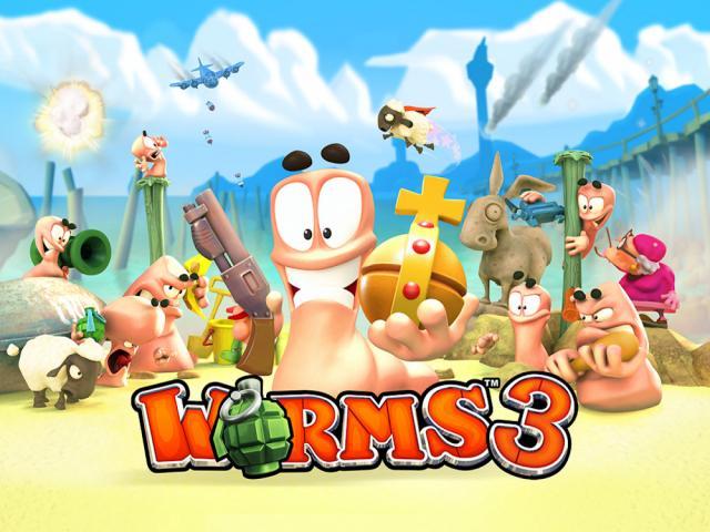 Worms 3 (MOD, Unlimited Money/ Patriot Kits Unlocked)