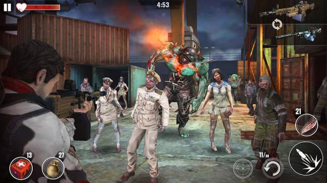 ZOMBIE HUNTER: Offline Games (MOD, Free Shopping/God Mode)