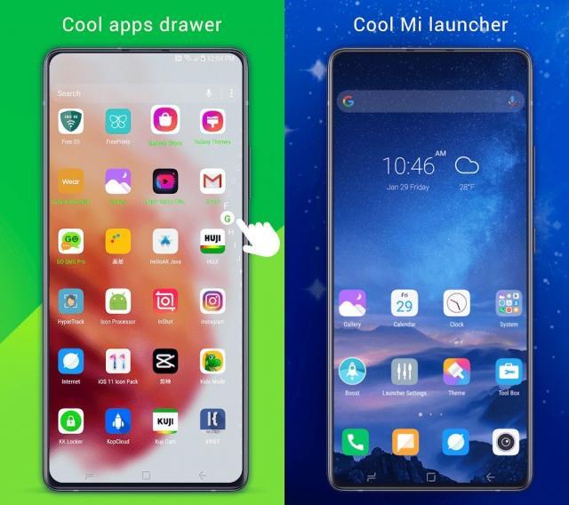 Cool Mi Launcher (MOD, Premium Unlocked)