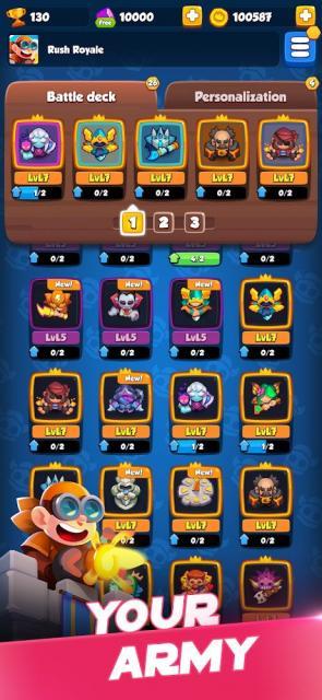 Rush Royale (MOD, Free Rewards)