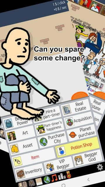 Beggar Life – Clicker Adventure (MOD, Unlimited Money/Points)