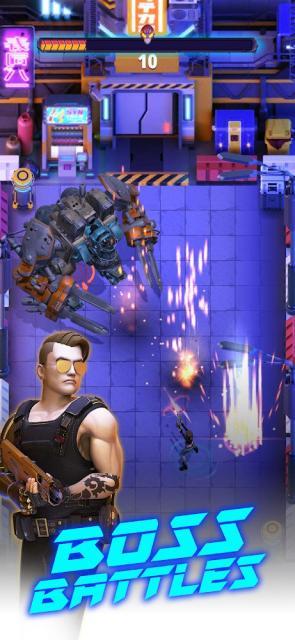 Cyberpunk Hero