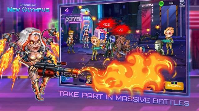 Cyberpunk: New Olympus