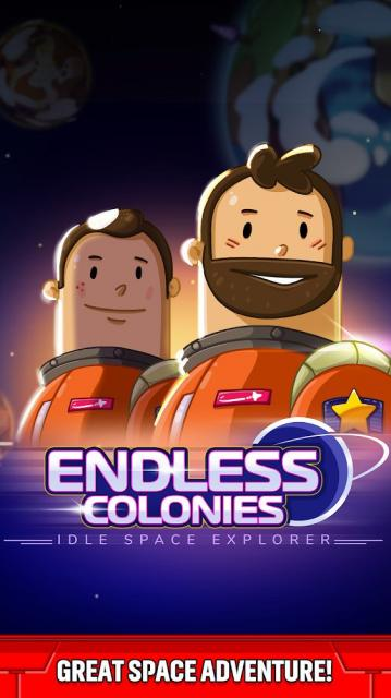 Endless Colonies: Idle Space Explorer (MOD, Unlimited Galaxy Gems)