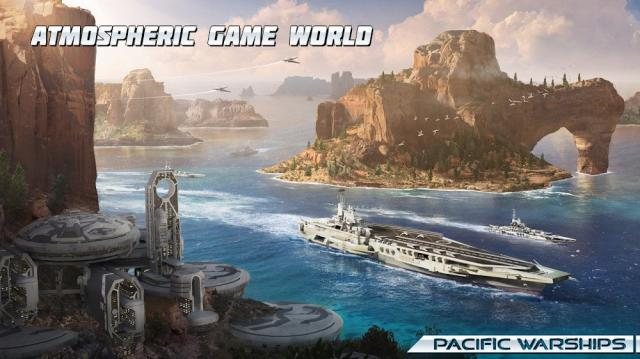 Pacific Warships: Naval PvP